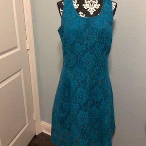 Sleeveless heavy lined dress